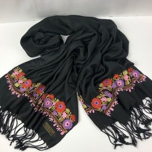 Pashmina Cashmere Scarf Nepal Hand made Embodied